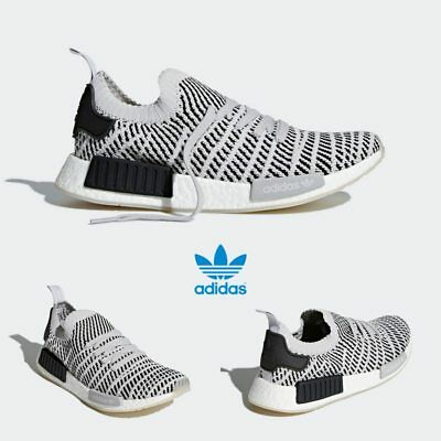 f6ab2abed Adidas Original NMD R1 PK STLT Runner Shoes Grey Grey Black CQ2387 SZ 4-11