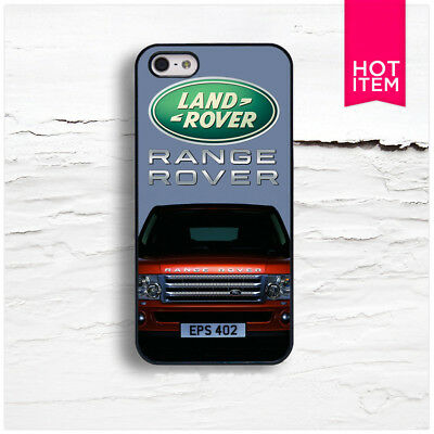New Land Rover Car Racing Logo iPhone 5 5S 5C 6 6S 7 7S 8 8S Plus X Case Cover