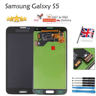 Samsung Galaxy S5 G900F i9600 LCD Display Touch Screen Digitizer Replacement UK