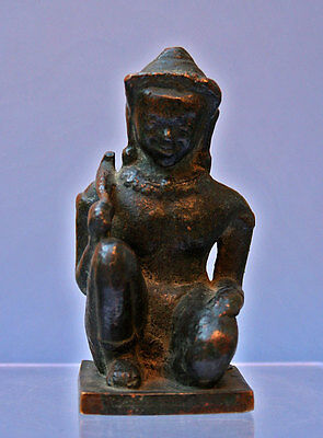 Antique Bronze Figure Khmer Cambodia