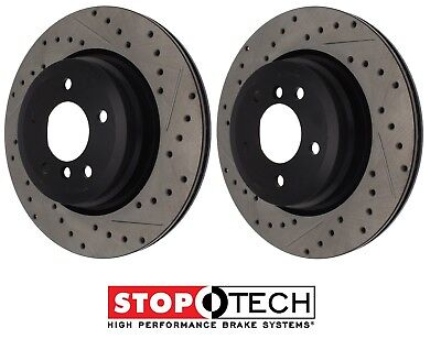 Front and Rear Brake Rotors /& Ceramic Pads For 2006 BMW 330Xi E90 AWD