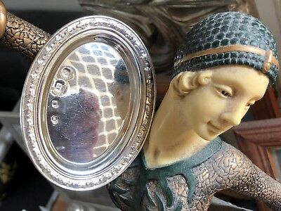 Small Sterling Silver Pin Dish - Carrs - Sheffield - 1992
