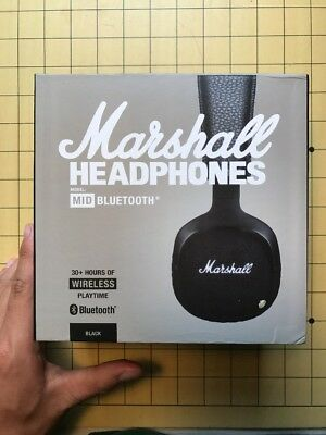 Marshall MID Bluetooth On-Ear Wireless Headphones. 1st Class Delivery.