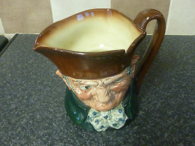 Royal Doulton 'old Charley' Large Toby/character Jug D5420 Very Collectable