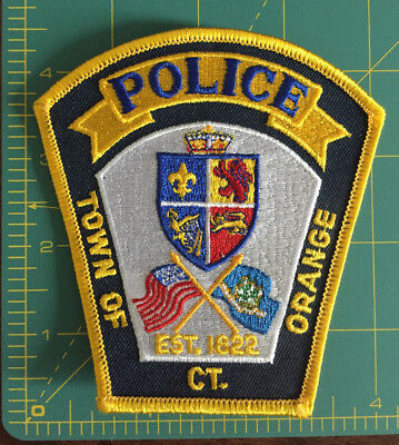Town of Orange, CT Police patch