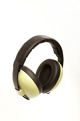 Banz Baby Ear Noise Attenuating Defenders Mini Ear-Muffs 0 - 2 years Forest Grn
