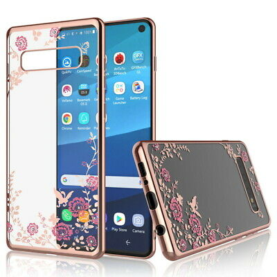 Bling Glitter Diamond Soft Silicone TPU Case Cover For Samsung S7/8/9 N8 J3/5/7