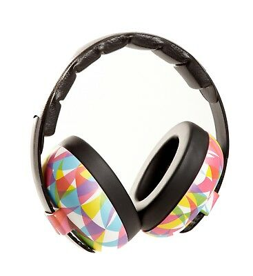 Banz Baby Ear Noise Attenuating Defenders Mini Ear-Muffs 0 - 2 years Geo