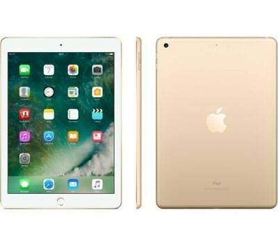 Apple iPad 5th Generation 9.7inch 32GB WiFi 8MP Cam Gold UK Model