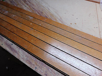 "Antique 2 1/4"" Quartersawn Oak Hardwood Flooring - C. 1890 Architectural Salvage"