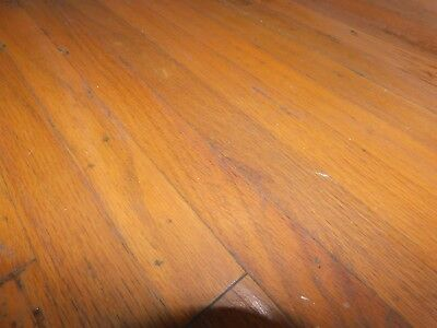 "Antique 1 1/2"" Oak Flooring - C. 1905 Tongue and Groove Architectural Salvage"