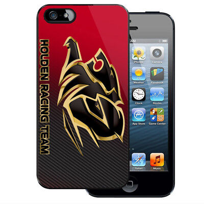 New Holden Team Racing Logo iPhone 5 5S 5C 6 6S 7 7S 8 8S Plus X Case Cover