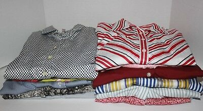 Women's Clothing LOT: 13 Shirts/Tops/Blouses, Variety of Sizes & Brands (LOT A)