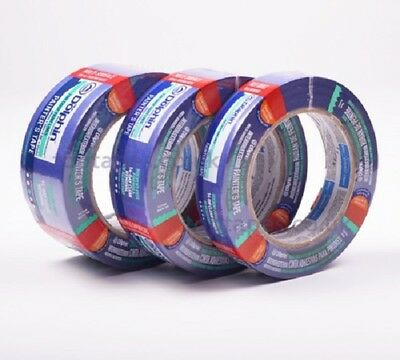 Blue Dolphin - Professional Blue Clean & Easy Removal Painters Masking Tape Roll
