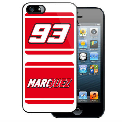 Marc Marquez Honda Racing Team iPhone 5 5S 5C 6 6S 7 7S 8 8S Plus X Case Cover
