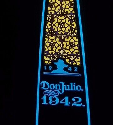 Don Julio 1942 LUMINOUS Tequila Bottle With Box 750ml (EMPTY) RARE & LIMITED