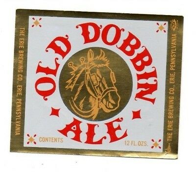 USA - Beer Label - The Erie Brewing Co, Erie, PA - Old Dobbin Ale