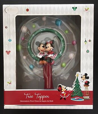 disney store mickey minnie mouse christmas star tree topper holiday ornament
