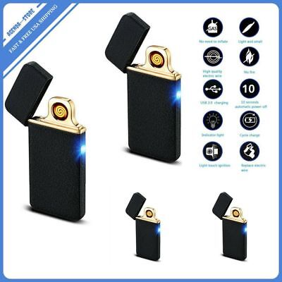 Atomic USB Electronic Lighter Electric Plasma Arc Flameless Rechargeable Battery