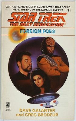 US STAR TREK The Next Generation Foreign Foes