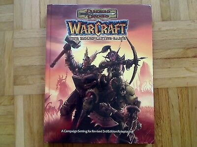Warcraft The Roleplaying Game Dungeons and Dragons Sword and Sorcery 3rd Edition