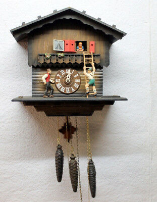 * Old Cuckoo Clock Wall Clock with Carillon* TO BE RESTORED