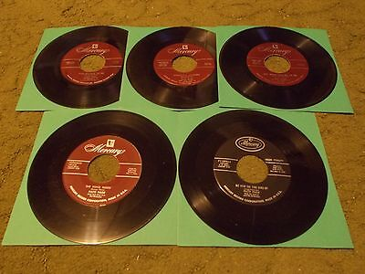 Lot Of Five (5)   Patti Page    Mercury 45's    Look!