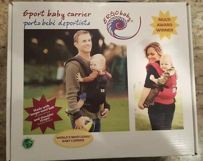 0b77d6916da NEW ErgoBaby BC6SP Sport Baby Carrier Red Original Box Manual Included