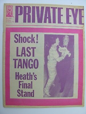 PRIVATE EYE 23 February 1973 No 292 Ted Heath, Fairport Convention, John Martyn