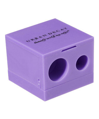 Urban Decay Purple Grindhouse Double Barrel Sharpener NEW BOXED
