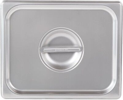 1/2 Size Stainless Steel Steam Table Buffet Hotel Pan Lid Cover (Pack of 6)