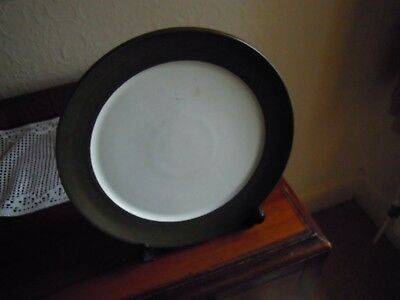Denby Chevron Camelot Smallest Plate New&unused Gleaming Condition!