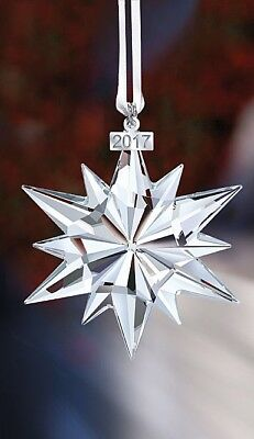 Swarovski Crystal 2017 ANNUAL EDITION LARGE CHRISTMAS ORNAMENT 5257589 US SELLER