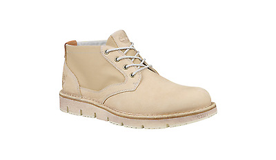 NEW! Men's Timberland Westmore Chukka Boots. Beige Canvas. Size 9 Retail: $150