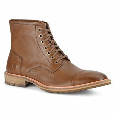 Marc New York by Andrew Marc Men's Norwood Boot,Hickory/Natural Leather,US 9 M
