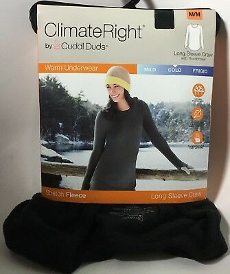 Climate Right Stretch Fleece Long Sleeve Crew (multiple sizes)