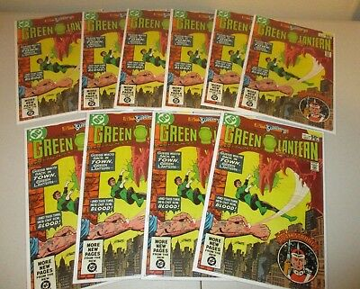 Green Lantern #144  (Wholesale Lot of 10 Issues)  DC 1981, Ave. 6.5-8.0