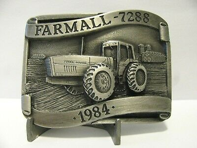 1984 IH International Harvester Farmall 7288 Tractor Belt Buckle LE  Rock Island
