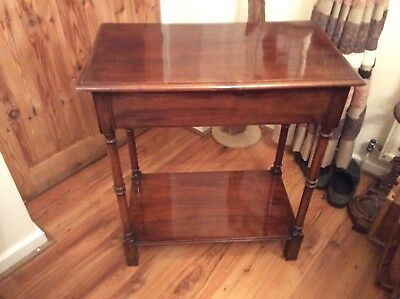 Waring Gillow,s Side Table, Signed & Numbered