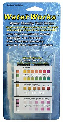Industrial Test Systems WaterWorks WW-18K 9-Way Test Kit 2 Tests