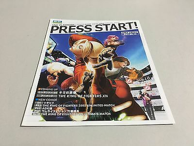 PRESS START! SNK PLAYMORE TOKYO GAME SHOW 2008 SPECIAL ISSUE booklet NEO GEO