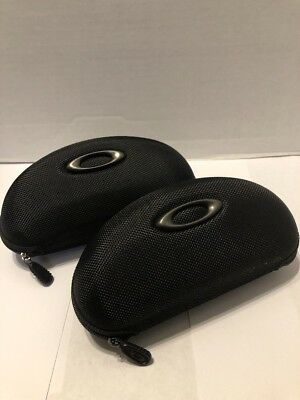 ==Oakley Zipper Case Lot Of 2 Great Condition Case Vault Fast Free S/H=