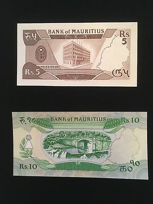MAURITIUS  Paper Money collection Lot  high grade