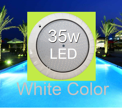 New* Long life Epoxy Resin Filled Pool Light 35W Super Bright WHITE LED Color