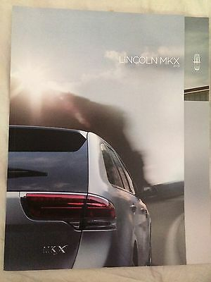 2013 Lincoln MKX Brochure & Color Chart Mint LooK Neat Never opened !!