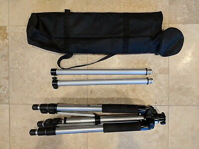 Pacific Laser Systems PLS Elevator Tripod with Adjustable Height to 9-Foot 6-Inc