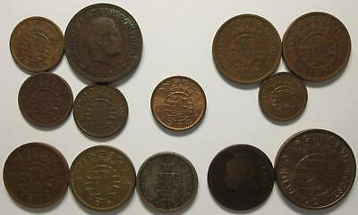 No reserve! Portuguese Overseas Territories Coin lot, 1930's to 1960's