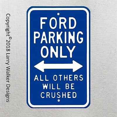 Ford Parking Only  Man Cave Novelty Garage Aluminum Sign New Cool