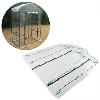 Portable 3-Tier 4 Shelves Green House Mini Outdoor Green House Plant Cover ZY