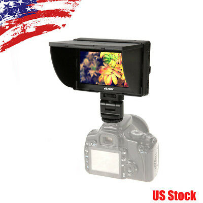 VILTROX DC-50 5'' Clip-on LCD HD Camera Monitor 800×480Pixels f Sony Canon DSLRs